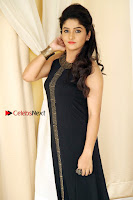 Kannada Actress Divya Uruduga Pos in Black Long Dress at Huliraaya Movie Audio Release Event  0004.jpg