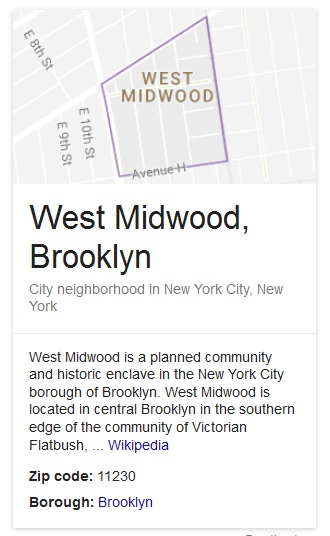 West Midwood Or Argyle Heights