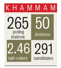 Khammam Municipal Corporation Election 2016 Result