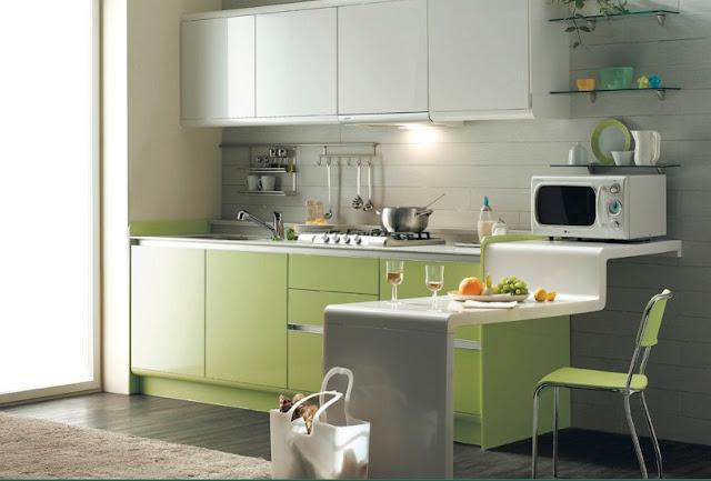 dapur minimalis ruang terbuka - desain rumah idaman