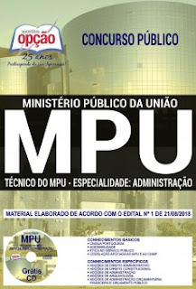 Apostila MPU 2018 PDF - Técnico Administração