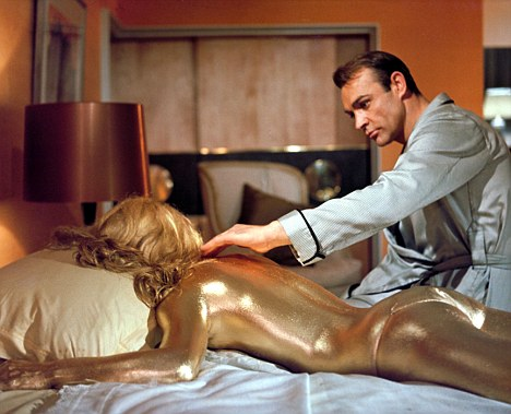 Goldfinger movieloversreviews.filminspector.com Sean Connery Shirley Eaton