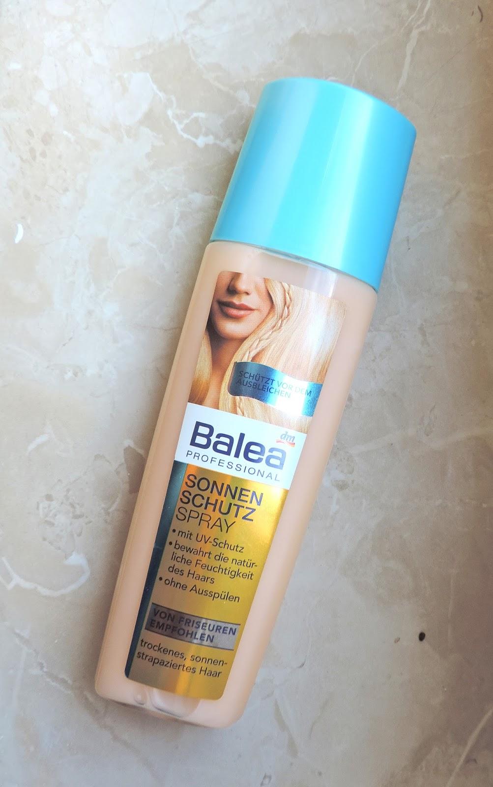 Liana Laurie Balea Professional Sonnenschutz Spray Auch