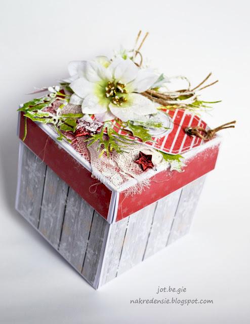 Świąteczny exploding box