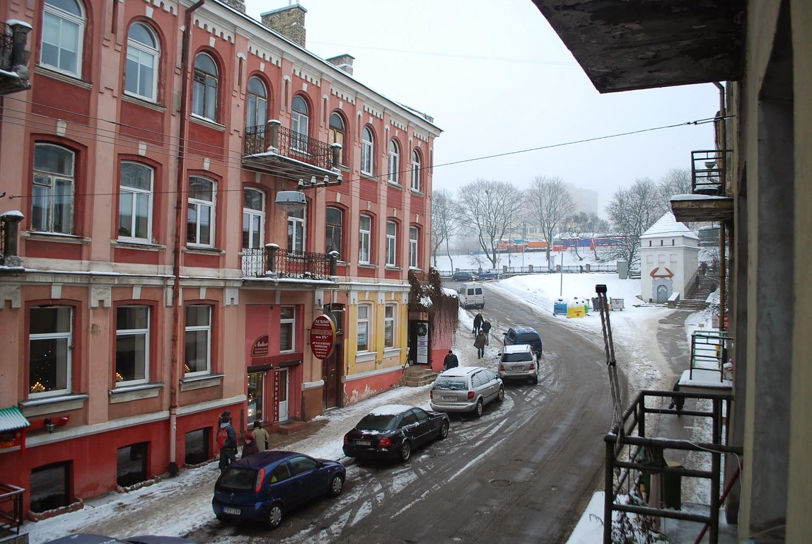 Вид из окна отеля Mikotel 2*