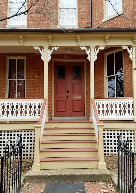 Annpolis front porch with Victorian elements