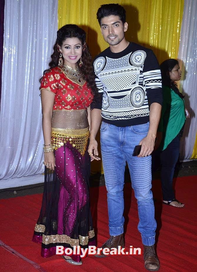 Debina Bonnerji and Gurmeet Choudhary, SAB Ke Anokhe Awards Photo Gallery