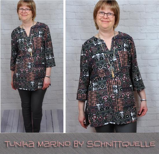 Tunika Marino by Schnittquelle