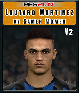 PES 2017 Faces Lautaro Martinez by Sameh Momen