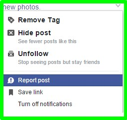 how to untag a facebook photo
