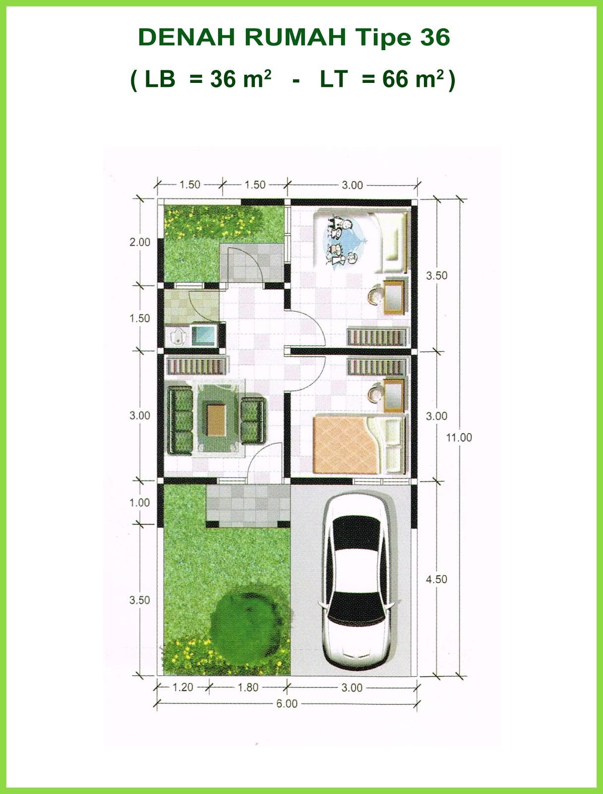 Desain Interior Rumah Type 36 66 Desain Rumah Minimalis Terbaru