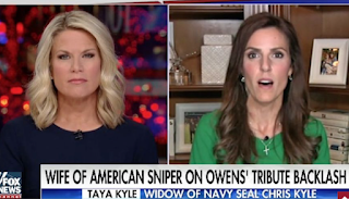 'American Sniper' Widow Taya Kyle Slams Michael Moore's Comments: 'It Makes Me Sick To My Stomach'
