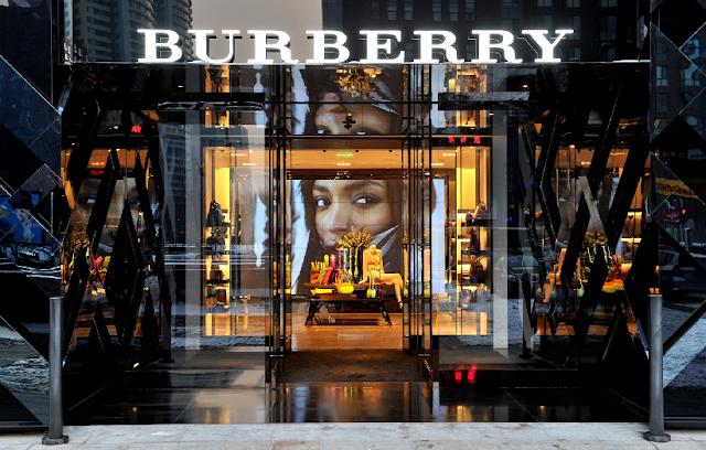 Lojas da Burberry em Miami