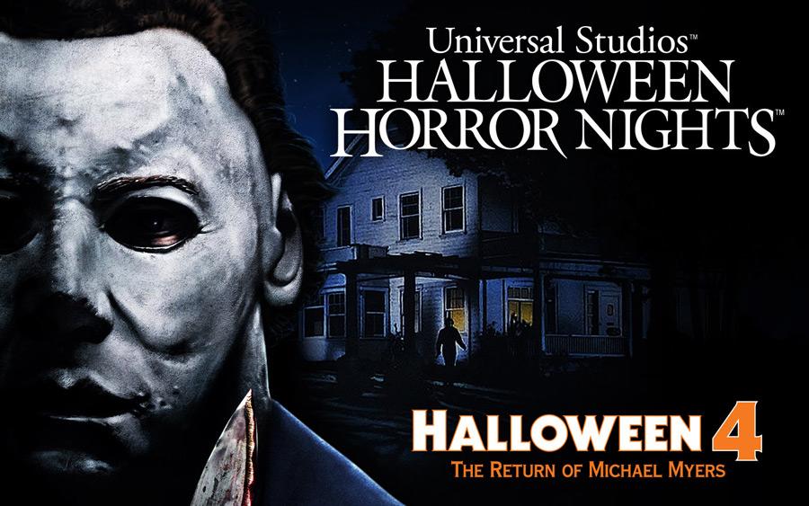 Halloween Horror Nights, Universal Studios Orlando, Halloween 4 - O Retorno de Michael Myers