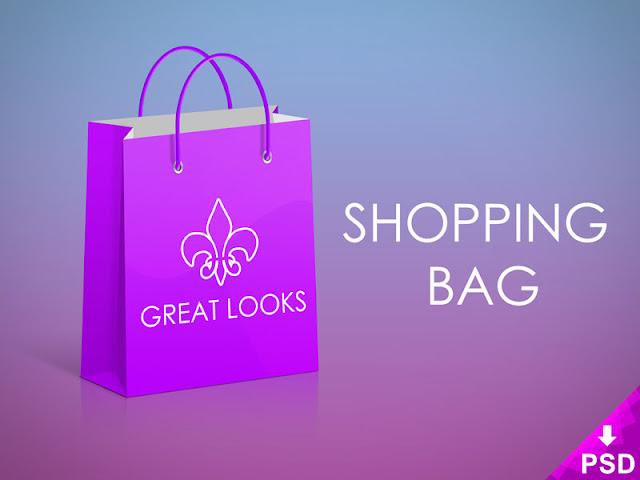 Great Shopping Bag Mock-up