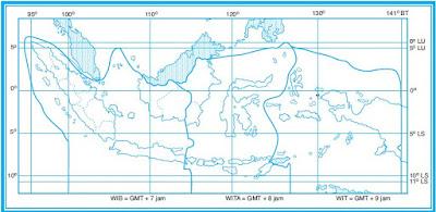 Pengertian Letak dan Luas Wilayah Indonesia Baik Secara Astronomis, Maritim, Geologis maupun Geografis