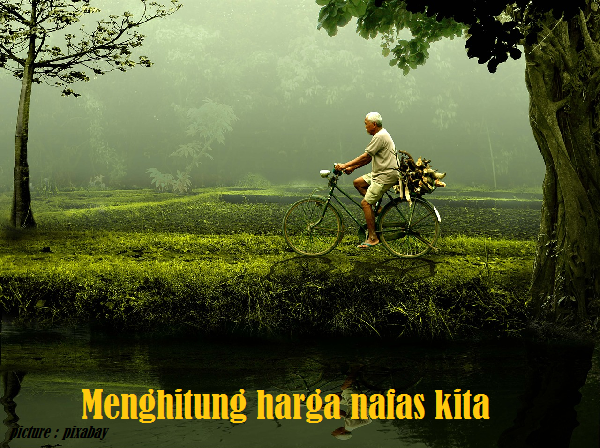 old man with bicycle - blog mas hendra