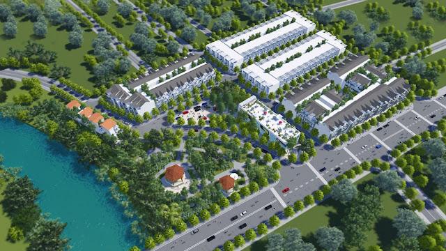 Phối cảnh New Đồng Kỵ Village