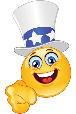 Uncle Sam smiley