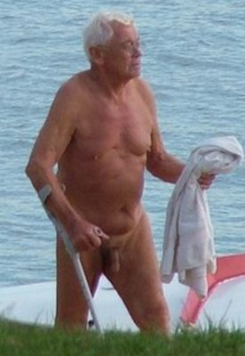 Opinion older mature grandpa shows cock suit