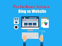 Kenali Perbedaan Blog dan Website