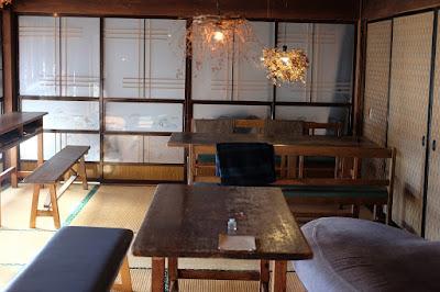 松本市の古民家カフェ KAJIYA(カジヤ)内装・インテリア