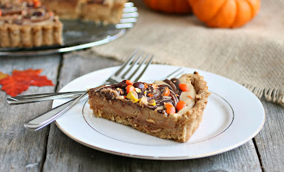 Reese's Peanut Butter and Chocolate Pretzel Crust Pie
