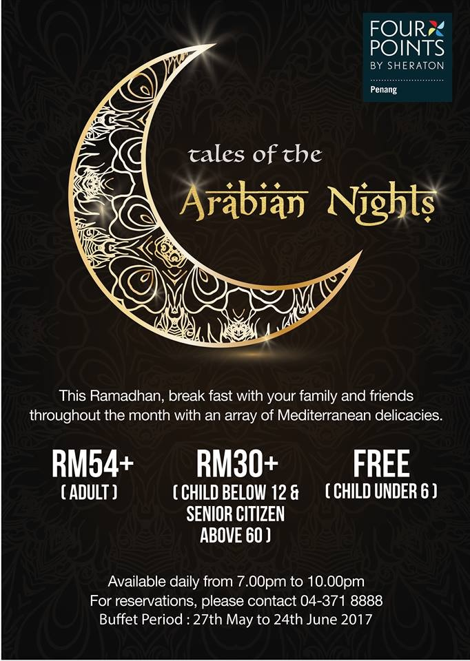 buffet ramadhan at sheraton penang