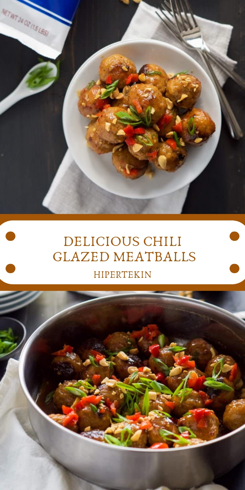 DELICIOUS CHILI GLAZED MEATBALLS