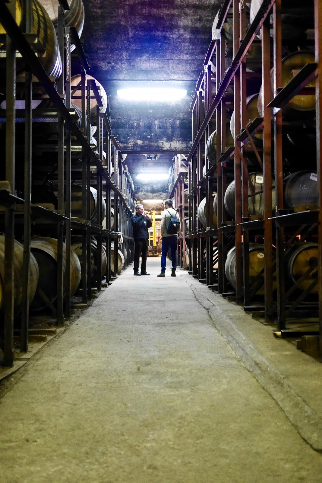 Tullibardine whisky distillery bonded warehouse  by cal McTravels