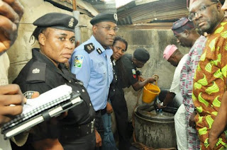 , Oil Bunkers caught in Lagos (Photos), Latest Nigeria News, Daily Devotionals & Celebrity Gossips - Chidispalace