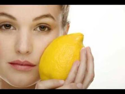 Lemon peel for face