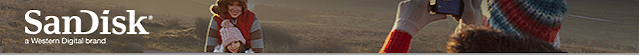SanDiskメールヘッダー画像