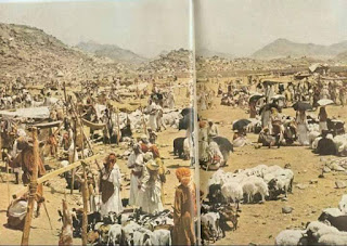 from oldest photo of Makkah Hajj