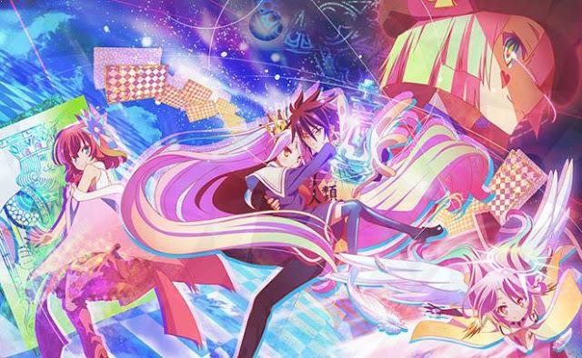 No Game no Life - Top Anime Like Konosuba (Kono Subarashii Sekai Ni Shukufuku Wo)