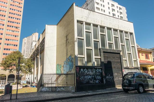O prédio que já foi sinagoga