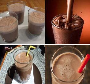 Imágenes de la leche chocolatada