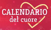 Logo ''Calendario del Cuore'' DOK e Famila: vinci gratis punti e buoni sconto