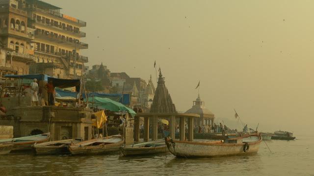 Manikarnika Ghat en Varanasi