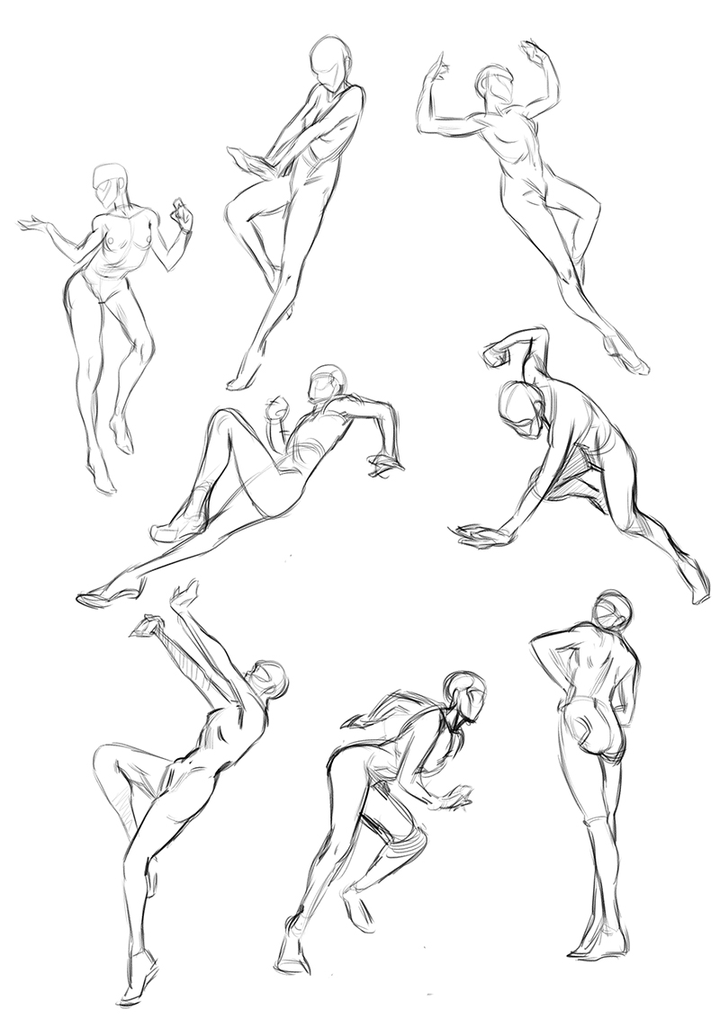 Let's Storyboard: Figures from imagination