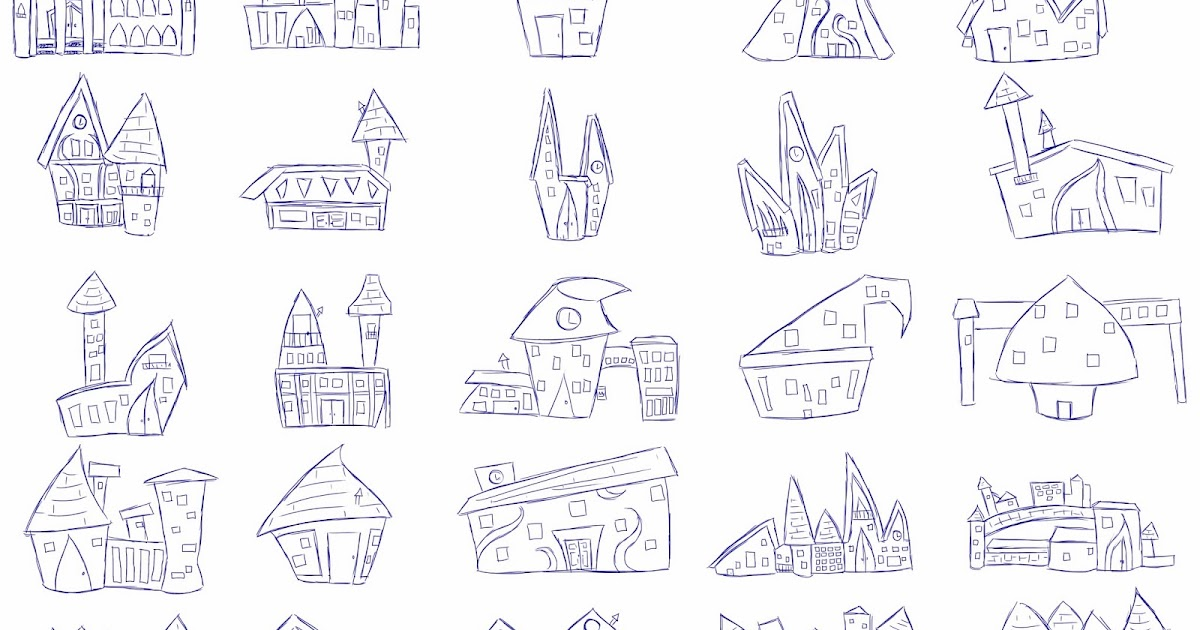Brooke Hayes Animation: Queen Fairy House Thumbnail Outline