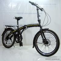 3 Sepeda Lipat GORIN 7 Speed Shimano dan Disc Brake 20 Inci