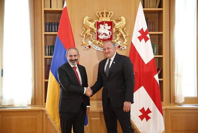 El presidente de Georgia felicita a Pashinyan por su victoria