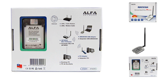 Journaling the Journey: Install Alfa Wifi AWUS036H on OSX