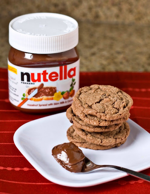 Ioanna's Notebook - 2-ingredient cookies (nutella+egg)