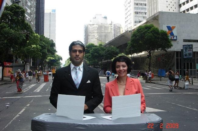 Sucesso do carnaval: William Bonner e Fátima Bernardes