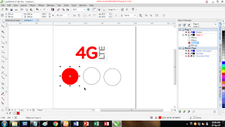 Cara Mengambil Warna dari Gambar Hasil Impor di Corel Draw