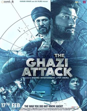 The Ghazi Attack 2017 Hindi 720p BluRay Download