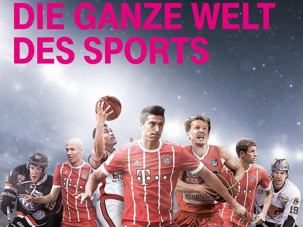 Mit Telekom Sport mit Sky Sport Kompakt | Alle relevanten Top-Ligen live erleben