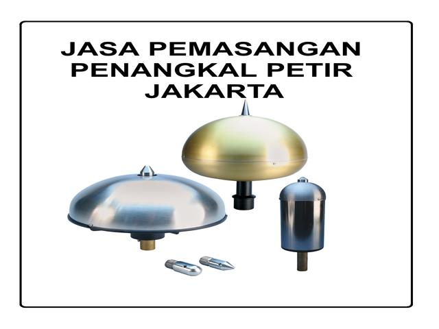 JASA PEMASANGAN PENANGKAL PETIR JAKARTA